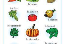 Legumes et fruit