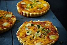 cooking - vegetarian tarts, pies, etc.
