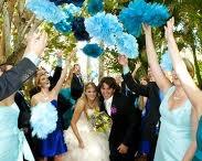 Deco wedding: POMPONES