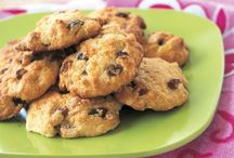 Rock cake with orange
