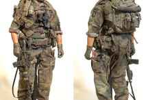 Military Scale Model Figuers