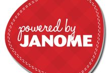 """Powered by Janome / Is Your Creative Business """"Powered By Janome""""? If you have a business that is powered in part by work done on your Janome sewing machine, embroidery machine or serger, we want to hear from you!"""