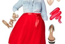 Plus Size Valentine's Day Outfits 2018