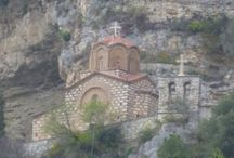 Berat Albania / One of two museum towns in Albania. A world heritage site where Ottoman buildings are mixed with Byzantine churches and an imposing citadel.