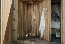 douche extérieur