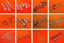Orthopedic Implants / Pages :- Orthopedic Plates Orthopedic Screws Hip & Knee Replacements Hip Prosthesis Orthopedic Nails Orthopedic Wires, Pins & Staples Spinal Implants