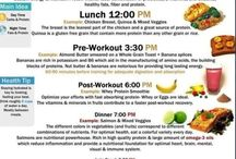 healthy foods / by Aileen Rivera