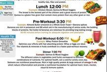 Meal plans / Food