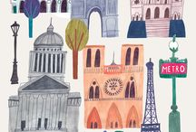 Ilustraciones Viajes