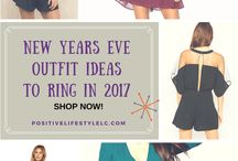 New Years / Holiday / Outfit Ideas / New Years Eve Christmas Holiday Party Outfit Ideas