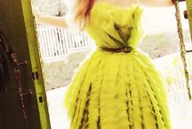 Chartreuse / My most favorite color...