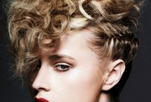 Hairdos / Hairdos for fashion photo shoots and such / by Stevi Mahaffey