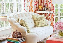 Living room spaces / by Amanda York