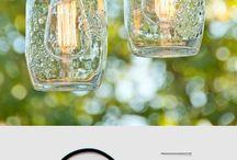 DIY and craft Lampu