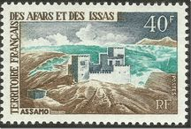 French Des Afars & Des Issas Stamps
