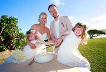 Wedding photography with children / Wedding photography with your children is a precious moment to embrace fully. Discover my most captivating family wedding photos in Mauritius and Seychelles.