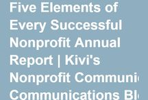 Not-for-profit / reports, communication, how-to
