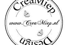 CreaMiep Design Stempel / CreaMiep Design Stempel die te koop zijn