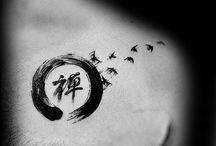 Circle of life tattoo