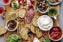 The #Bruschetta Bar / Everyone's invited! Feel free to re-pin your fav bruschetta! :)