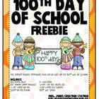 Hundredth Day of School
