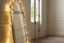 Lighting The Way / Unique ways to incorporate lighting in your home.