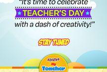 Teachers' Day: My Teacher, My Hero! / Join Kidzee's 'My Teacher, My Hero' activity. Pay tribute to your teachers and win exciting prizes!
