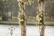Ideas para decorar un altar en una boda civil