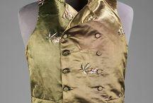 Men's 18th and 19th Century Waistcoats and Tailcoats