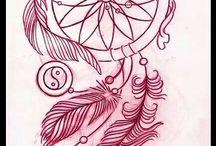 tattoo łapacz snów