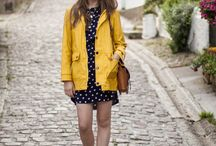Yellow raincoat dept