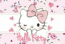 Hello kitty papel de fundo