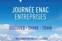 Journée Entreprise ENAC / La journée Entreprise ENAC, c'est demain à l'ENAC Toulouse! Une journée complète de rencontres entre nos étudiants et les grandes entreprises de l'aéronautique.  ADP, Air France, Airbus, Akka Technologies, ALTEN, ALTRAN, AMADEUS, ATR, Bureau Veritas, CAPGEMINI, CGX Aero, Cofely INEO, Corsair, Daher/Socata, EGIS AVIA, EUROGICIEL, Rockwell Collins, SAFRAN, SII, SOPRA STERIA, THALES...