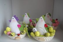 Crochet Easter / Easter chickens, sheep, bunnies and more.....