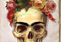 Famous artists skulls