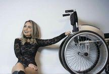Skønhed i kørestol