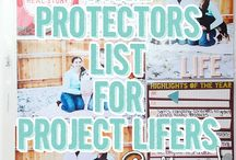 PL Page protector list/s