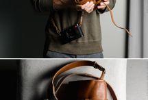 カメラ 革