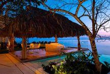 Casa Papelillos, Puerto Vallarta, Mexico / South shore Puerto Vallarta beachfront home.  Amazing decor.   Waiting for the right buyer.  For Sale.