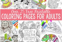 Rediscover Coloring / Discover your creative side @ Seymour Library!
