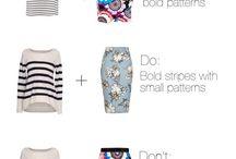 Cloth pattern combo