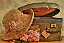 Bags, Hat Boxes, Purses, Suitcases, Trunk...
