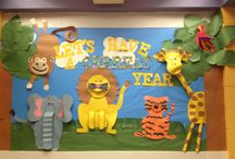 Bulletin Boards: Jungle/Rainforest / by Polly Wickstrom