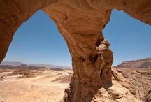 Parque Timna, expectáculo natural en Israel / Las maravillas geológicas del Parque de Timna es una de las mayores atracciones del sur de Israel. A solo 27 kilómetros al norte de Eilat, una visita a Timna es una forma perfecta de hacer una pausa en el camino hacia la Riviera israelí del Mar Rojo