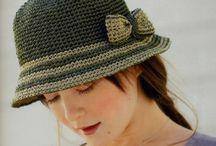 Horgolt kalapok sapkák