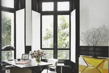 Office / What's more inspiring that an amazingly decorated office?  These are some of my favorite office layouts and designs from small DIY to the elegant and luxurious.