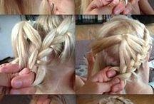 μαλλιά κουβάρια.