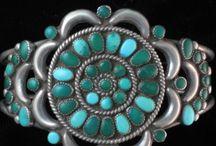 Vintage Zuni Turquoise Jewelry