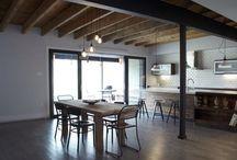 sufit drewniany