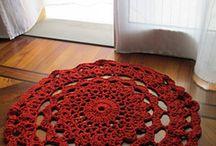 Crochet rugs / crochet ideas and inspiration